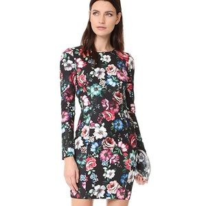 Black Halo | Lively Floral Print Sheath Dress 10